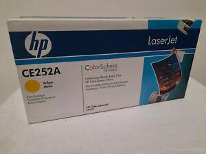 Original HP Toner CE252A  yellow für HP Color LJ 3500,3520,3525, 504A neu + OVP