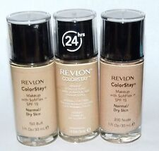 Revlon 3x Colorstay Makeup Normal-Dry Buff Nude New