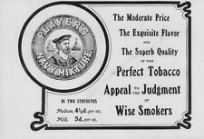 1906 Antique ADVERTISING Print - PLAYERS NAVY MIXTURE TOBACCO  (90)