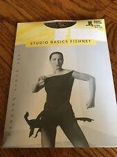 Capezio Seamed Fishnet Black Tights #3408 Size Women's L/xl, New