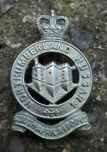 British Army Northumberland Hussars Cap Badge EIIR Believed Gaunt Reproduction