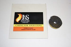Morso Stove Replacement Glass with Seal/Gasket - All Models