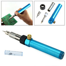 1300°C Butane Gas Blow Torch Solder Iron Gun Cordless Woolelding Pen Burner OK