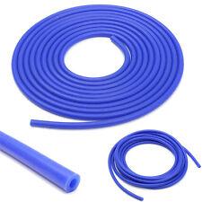Blue 4mm ID 9mm OD Car Auto Relief Valve Silicone Vacuum Tube Hose Pipe 5m