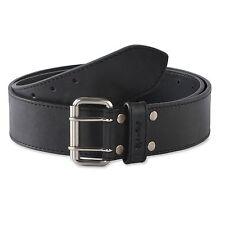 Style n Craft 392752 - 2 Inch Work Belt in Heavy Top Grain Leather-2 Tone Black