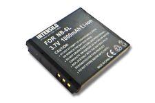 Batería 1000mAh para CANON POWERSHOT D10 SX270 HS SX500 IS SD770 es ACCU