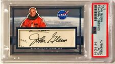 John Glenn Astronaut NASA Signed Auto Custom Cut #'d 1/1 Trading Card PSA/DNA