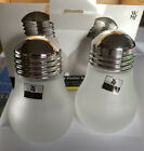 """WMF Salt & Pepper Shakers Stainless Top Cromargan frosted bulb round 3"""" new box"""