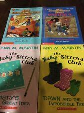 The Baby Sitters Club Ann M Martin x 4 books