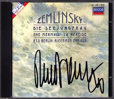 Riccardo Chailly firmato Zemlinsky la perfida the Mermaid Salmo XIII CD