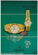 Rolex Datejust ref. 1601 & 6517-HeFT/manual de instrucciones de 1967-alemán