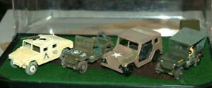 WWII TOY US MILITERY JEEPS SMALL SIZE