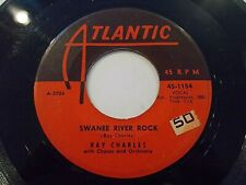Ray Charles Swanee River Rock / I Want A Little Girl 45 1963 Vinyl Record