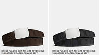 Coach Cut To Size Reversible Signature C Belt Pick From Colors Listed NWT