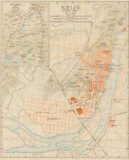 'Heijo (Pyeng Yang)'. Pyongyang antique town city plan. North Korea 1913 map