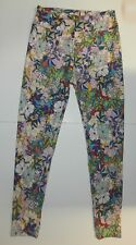 Women's Print Leggings | Floral Pattern; One Size (009)