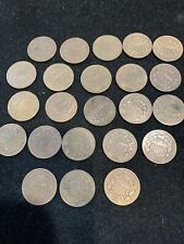 23 PC LOT 2C COINS 1864-1868 VF