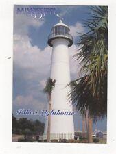 Biloxi Lighthouse Mississippi 2001 Postcard USA 409a ^