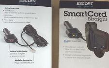 New listing Passport Escort SmartCord Straight Cord Blue Led Mute Button Brand New