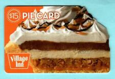 VILLAGE INN Pie Card 2009 Die-Cut Gift Card ( $0 )