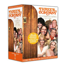 Three's Company: Complete TV Series Season 1 2 3 4 5 6 7 8 Boxed DVD Set NEW!