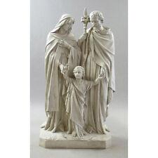 Life-size holy family  tabernacle   reliquary  Catholic  statue  altar