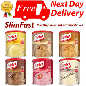 SlimFast Meal Relacement Protein Shake   No Added Sugar   6 Flavours   2 Sizes
