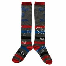 DC Suicide Squad Harley Quinn Daddy's Lil Monster Knee High Socks - One Size