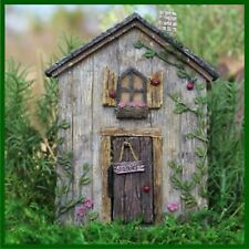 FAIRY GARDEN FUN Fairy Door Ladybug Hinged Resin Figurine 312 Mini Dollhouse