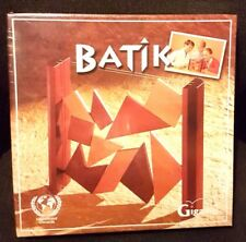 Batik Puzzle Game by Gigamic - New & Sealed - RARE GAME