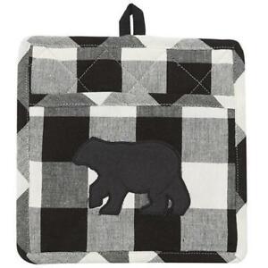 Park Designs Potholder with Pocket - Wicklow Bear