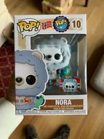 Funko Pop! Around the World Nora Norway #10 Funko Shop Exclusive, In Hand! MINT!
