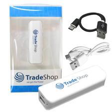 Power Bank 2200mAh Externer USB Akku Ladegerät für Samsung Chat GT-C3222