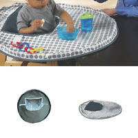 Baby Eating Table Mat Feeding Saucer High Chair Cover For Kids Germ Prevents