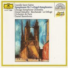 Camille Saint-Saëns CD Symphony Nr.3 >>Orgel-Symphonie