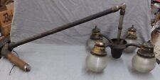 Vtg Industrial Medical Dental Surgical Light Holophane Shades Steampunk 1135-16