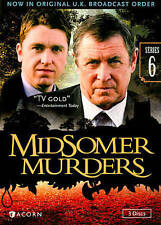Midsomer Murders: Series 6 (DVD, 2014, 3-Disc Set) <a128>