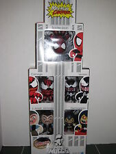 Marvel Exclusive Maximum Carnage Mini Muggs Set 2011 Comic Con Spider-Man