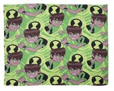 Ben 10 Alien Omniverse Boys Kids Childrens Snuggle Comfy Fleece Green Blanket