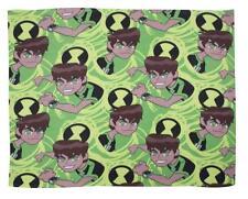 Ben 10 : Alien Omniverse Garçons Enfants Chaud Comfy Polaire Vert Couverture