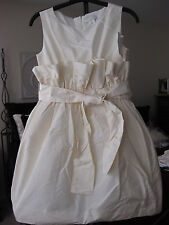 CREWCUTS COLLECTION JCREW CECILEE SILK TAFFETA DRESS FLOWER GIRL FIRST COMMUNION