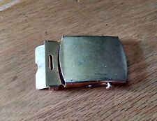 Usce Clinical Experience? vintage gold tone military belt buckle for wear repair