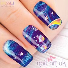 Vivid Jelly Fish Decal Nail Art Stickers, Decals, Tattoos