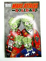 Mars Attacks The Holidays Cover B IDW Comic Book October 2012 Topps