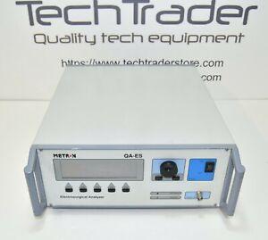 Metron Biomedical QA-ES Unit Analyzer