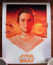 John Keaveney Rey print poster Star Wars The Force Awakens Limited 8/275 w/COA