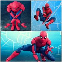 Toy Spider Man Homecoming SHF Spider man PVC Action Figure Collectible Model