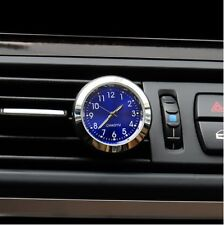 Auto Car Clock A/C Air Outlet Perfumes Refill Air Freshener Quartz Watch Styling