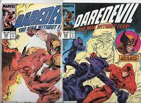 Daredevil #248 & #249  Lot of 2 (1987, Marvel Comics)
