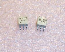 QTY (25) T2-1T-KKTR  MINI CIRCUITS RF TRANSFORMER 0.07 - 200MHz 6 PIN  SMD T2-1T